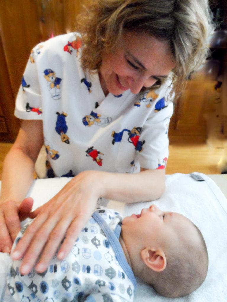 fisioterapia para bebes - tratamiento